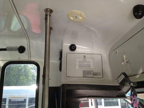 Bus camera surveillance system 3 cam setup