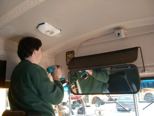 bus video camera OSI166