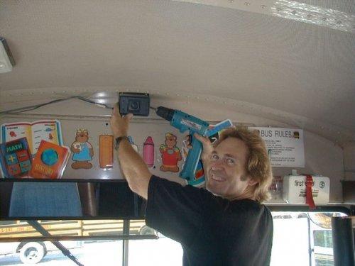 bus video camera OSI186