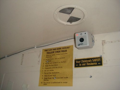 bus video camera OSI198