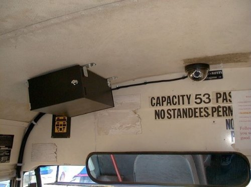 bus video camera OSI81