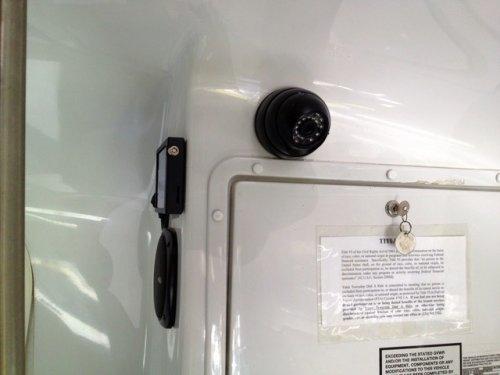 school bus camera system alternate rear cam location